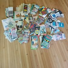 25 Pounds Of Vintage Road Maps and other / advertising gas and oil travel