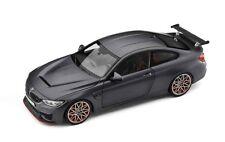 Original BMW M4 GTS F82 1:18 Maquette de voiture Gelé gris foncé Miniature