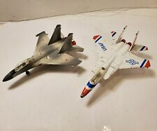 Revell Air Aces Diecast Lot of 2 1990 Jet Plane Lot