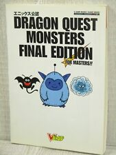 DRAGON QUEST MONSTERS Final Edition Guide GB Book VJ69*