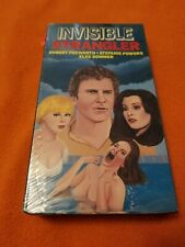 The Insvisible Strangler VHS rare Video Treasures