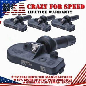 4PC For GM TPMS 13586335 Tire Pressure Sensor For Chevy GMC Buick Pontiac 315MHz
