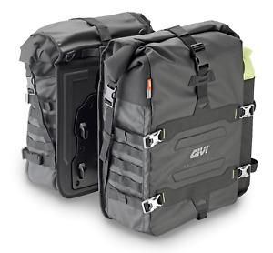 GIVI GRT709 CANYON SIDE BAGS x 2 SOFT BAGS ( 35L + 35L PAIR ) Black