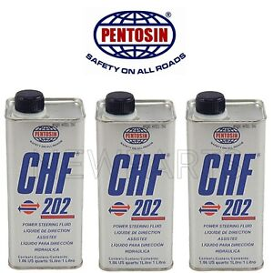 For 3L Convertible Top Hydraulic System Pump Fluid CHF 202 Pentosin for Porsche