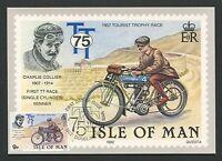 ISLE OF MAN MK 1982 TT TOURIST TROPHY MOTORRAD MOTORCYCLE MAXIMUM CARD MC d4563