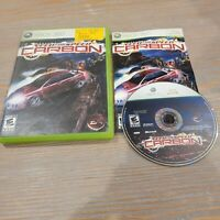 Need for Speed: Carbon (Microsoft Xbox 360, 2006 EA Electronic Arts CIB Complete