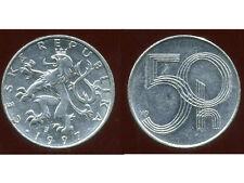 TCHECOSLOVAQUIE  50 haleru 1997  ( bis )