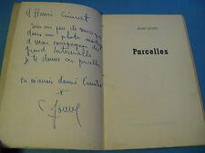 ANDRE JOUVE PARCELLES POESIES 1952 ENVOI Signé 1 des 20 EX. DE TETE COMPOSITEUR