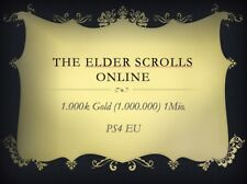 The Elder Scrolls Online 1 Mio 1000k Gold PS4 EU (1000000), ESO, TESO
