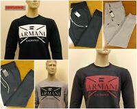 MEN'S ARMANI EXCHANGE SWEATSHIRT & JOGGERS ON SALE !!!