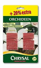 CHRYSAL Düngestäbchen für Orchideen, 20 Stäbchen