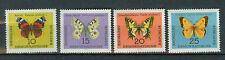 Briefmarken DDR 1964 Schmetterlinge Mi.Nr.1004-7** postfrisch