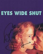 Tom Cruise & Nicole Kidman HAND Signed 8x10 Photo with PROOF, Autograph