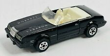 Vintage 1984 Road Champs Lebaron Convertible Black 1/64 Loose RARE!