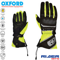 MONTREAL 1.0 OXFORD ADULT MOTORBIKE MOTORCYCLE GLOVES TOURING WATERPROOF TEXTILE