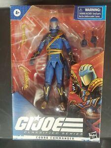 "Exclusive GI Joe Classified Series 6"" Light Blue Regal Cobra Commander"