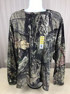 Mens Mossy Oak L/S Shirt Camo Sz 3xl Break Up Country Outdoor Hunting Fishing