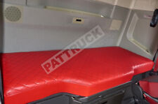 Truck Bed Cover Compatibles avec Volvo FH4 2013-2020 ECO-CUIR ROUGE