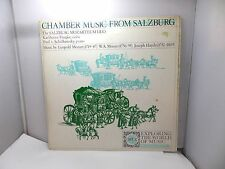 CHAMBER MUSIC FROM SALZBURG FRANKE  BY LEOPOLD ORYZEXP55 ORYX  VINYL LP