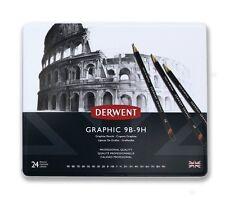 Derwent Graphic 24 Pencil Tin