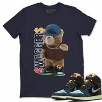 AJ 1 Retro Bio Hack Sneaker Matching Tees Outfit Bear Swaggers T Shirt
