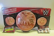 WWE Tag Team Championship Replica Belt  NIP  Rose Color