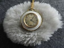 Up Necklace Pendant Watch Pretty Swiss Made Lucerne Wind