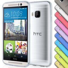 Handyhülle für HTC Transparent Silikonhülle Ultra Slim Zubehör Soft Schutz Hülle