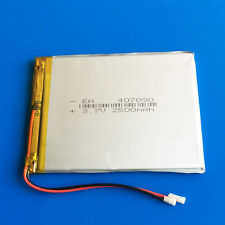 3.7V 2500mAh Li Po Batería para Tablet PC DVD GPS Cámara Grabadora Pad a mediados de 407090