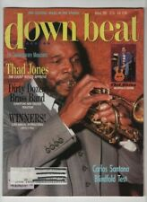 Down Beat Magazine Thad Jones Chet Atkins August 1985 052820nonrh