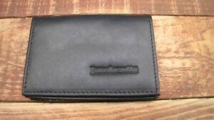 Lambretta logo Black Leather wallet credit card size, licence / ID holder IT126