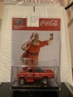 2020 M2 Machines Coca Cola Christmas 1970 CHEVROLET C60 TRUCK FREE SHIPPING