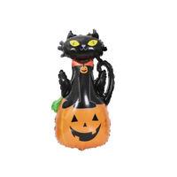 Halloween Pumpkin Cat Ghost Spider Foil Balloon Home Festival Party Decoration
