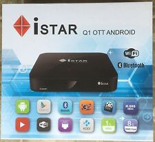iStar korea Q1 Ott With Android One Year Free Online Tv 2350 channels