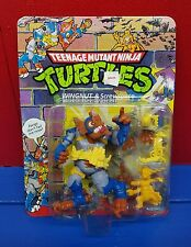 Teenage Mutant Ninja Turtles TMNT Wingnut and Screwloose 1990 MOC