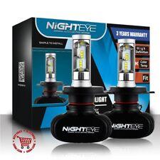 Nighteye 50W 8000LM H4 LED Scheinwerfer Birnen Headlight Kit Leuchte Super Weiß