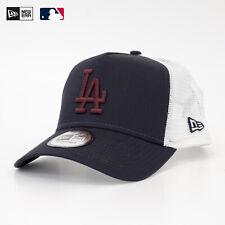 NEW ERA MLB A-Frame Trucker Cap Los Angeles Dodgers Snapback Navy Verstellbar