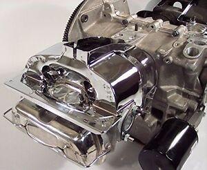 EMPI 9063 VW BUG ENGINE DUAL PORT CYLINDER HEAD SHROUD TIN CHROME