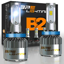 BPS Lighting B2 Series LED Headlight Bulbs H11 Conversion Kit 12000LM 100W