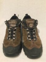 Timberland Men's Hiking Shoes 7.5 Brown Leather Ankle High Boot