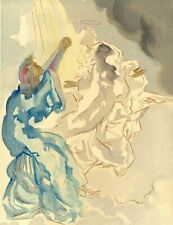 Salvador Dalí Choose Paradise Mercury - Dante Divine Comedy Woodcut Original