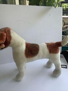"""Life Size JACK RUSSELL DOG PLUSH TOYS -LARGE 14 X 20"""", MELISSA & DOUG"""