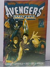 Marvel Comics Avengers Timeslide The Crossing Foil Cover Capt. Am. Feb1992