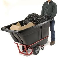 Tilt TRASH BIN - 850 lbs Capacity - 1/2 Cubic Yard - Portable - Waste - Garbage