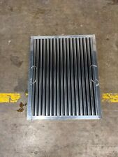 "16"" x 20"" Captrate Solo Stainless Steel Grease Hood Filter"