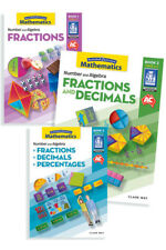 Australian Curriculum Mathematics – Fractions: Book Pack