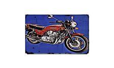 Cb900Fa Motorbike Sign Metal Retro Aged Aluminium Bike