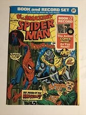 The Amazing Spider Man Mark of the Man-Wolf Comic Book 45 rpm Record Set (1974)