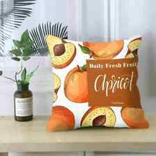 Tropical Fruits Cushion Cover Decorative Couch Throw Sofa Pillow Case K3W8