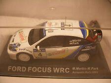 Voiture IXO ALTAYA 1/43 FORD FOCUS WRC RALLY Acropolis 2003 M.Martin/M.Park NEUF